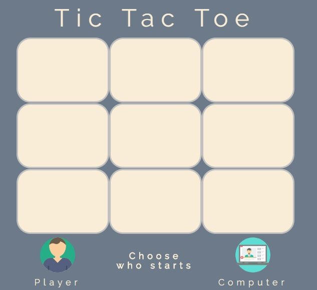 FCC project Tictactoe app